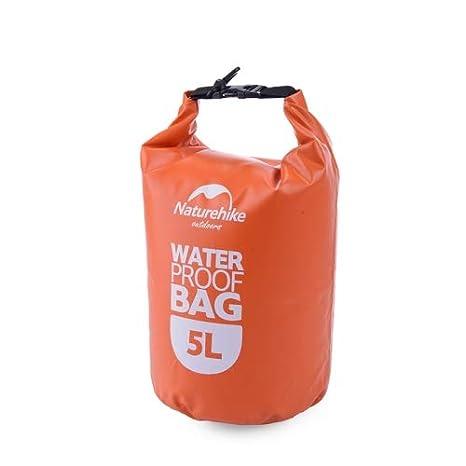 674cba7753 Buy HITSAN INCORPORATION Naturehike 5L Outdoor PVC Cloth Trekking River  Drifting Waterproof Bag Ultralight Swimming Bag(Orange) Online at Low  Prices in ...