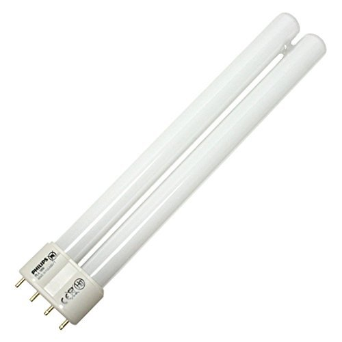 Hour 15000 Compact Lamp Fluorescent ((10 Pack) Philips Lighting 35932-3 - PL-L 18W/835/4P - 18 Watt CFL Light Bulb - Compact Fluorescent - 4 Pin 2G11 Base - 3500K -)