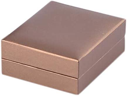 ペンダント ケース ネックレス 首飾り アクセサリーケース 展示 収納ボックス プレゼントに - ゴールドコーヒー