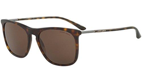 Giorgio Armani AR8076 - 508973 Sunglasses Tortoise Matte/Brown Acetate 55mm -