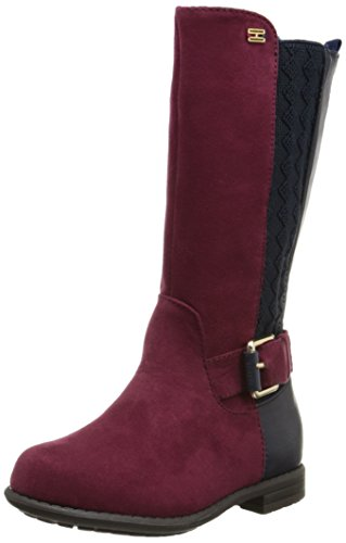 Tommy Hilfiger Kids Andrea Tall Chelsea Riding Boot ,Peacoat