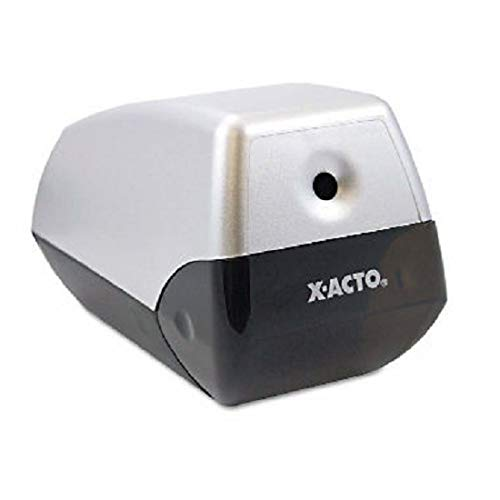 X-ACTO : Model 1900 Desktop Electric Pencil Sharpener, Two-Tone Gray -:- Sold as 2 Packs of - 1 - / - Total of 2 Each ()