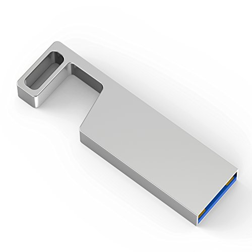 TOPESEL 32GB USB 3.0 Flash Drive Metal Memory Stick Waterpro