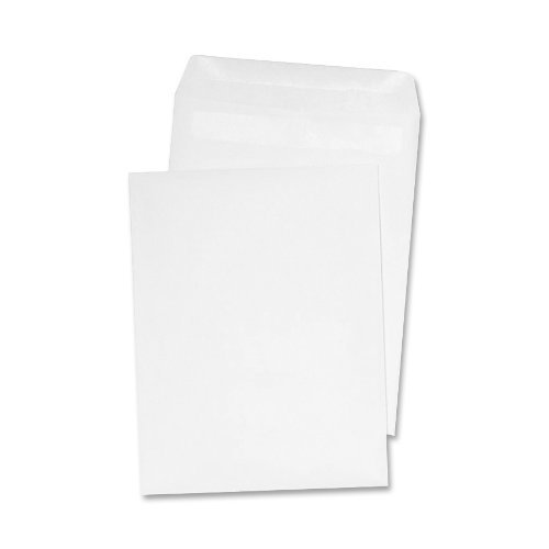Quality Park 43317 Quality Park Redi-Seal Catalog Envelopes, 6-1/2x9-1/2, White, 100/Box by Quality Park