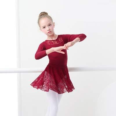 2a5ffd06a537 Amazon.com  Funnmart Girls Ballet Dress Gymnastic Leotards Lace ...