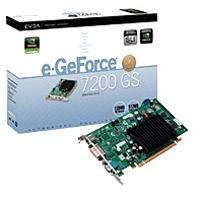 EVGA nVidia GeForce 7200GS 256 MB Support Upto 512...