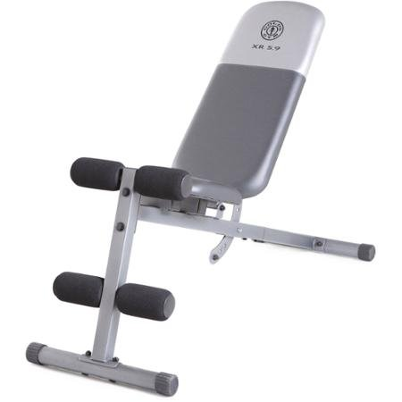 Gold's Gym Xr 5.9 Slant Bench Included to Help You Perform the Exercises More Effectively by Golds Gym