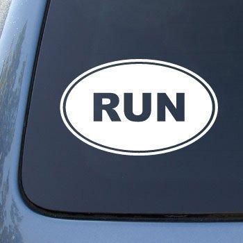 RUN Running Marathon Vinyl Sticker