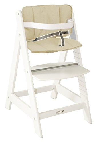 Roba 7562W C4 Treppenhochstuhl SIT UP III weiß, inklusiv Sitzverkleinerer