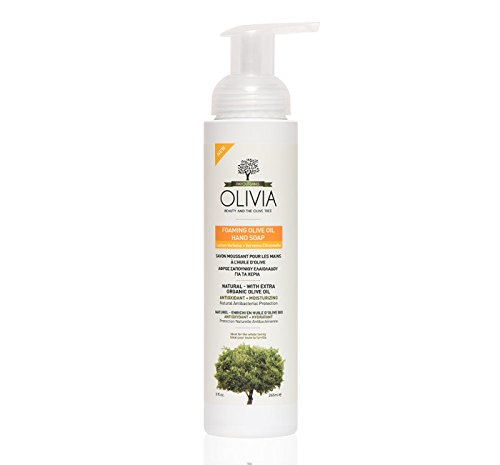 OLIVIA FOAMING OLIVE OIL HAND SOAP - Lemon Verbena 9 fl (Lemon Verbena Foaming Bath)