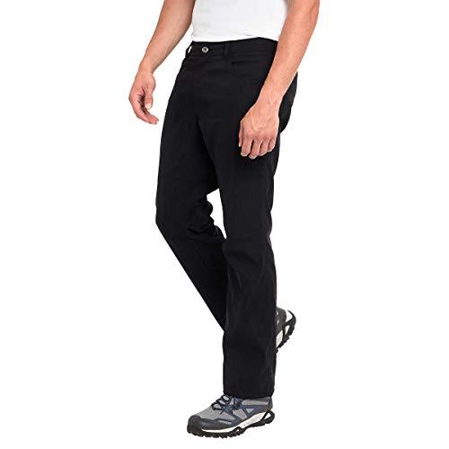 Eddie Bauer Men's Lined Pant (36x30, Black)