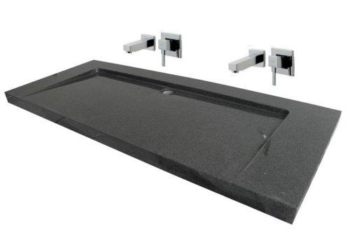 Waschbecken aus Naturstein, Granit, Model
