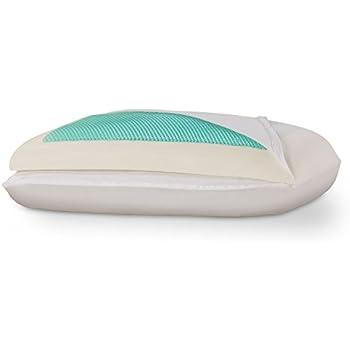 Amazon Com Dreamfinity Cooling Gel Amp Memory Foam Pillow
