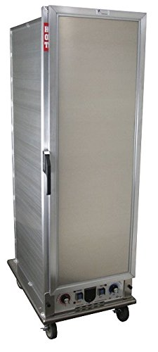 Lockwood CA67-PF34-SD-R Aluminum Full Height Non-insulated Economy Proofing and Heating Cabinet with Solid Aluminum Door, 34 Pan Capacity, 22-3/8