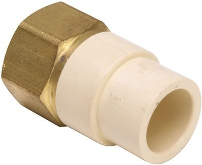 PROPLUS GIDDS-157282 Cpvc/Brass Transition Adapter, 1/2