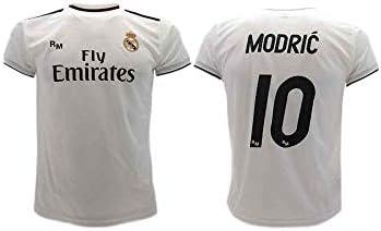 Real Madrid Luka Modric 2018-2019 - Camiseta de fútbol Oficial para niños: Amazon.es: Deportes y aire libre