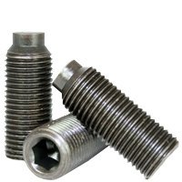 "1/2""-13 x 1 3/4"" SOCKET SET SCREWS 1/2 DOG POINT COARSE ALLOY THERMAL BLACK OXIDE,Head: None,Drive: Internal Hex,alloy_steel,plain,Point Style: 1/2 Dog Point,Thread: UNC (Inch) (Quantity: 50)"