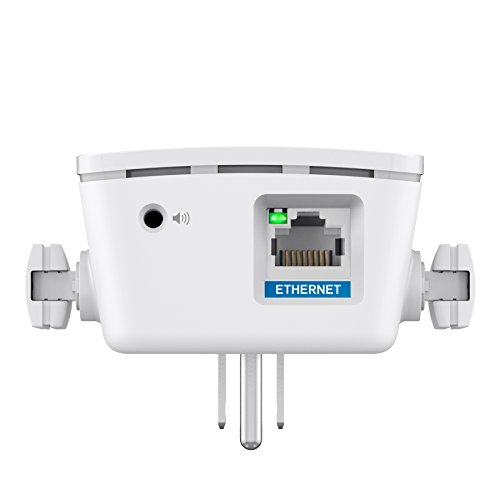 Linksys AC1200 Amplify Dual Band High-Power Wi-Fi Gigabit Range Extender / Repeater with Intelligent Spot Finder Technology and AC Pass Thru (RE6700) by Linksys (Image #4)