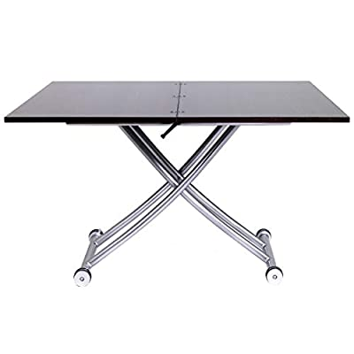 SpaceMaster 2219 X Convertible Adjustable Coffee and Dining Table