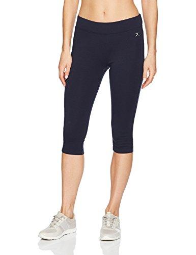 Danskin Women's Capri Legging, Midnight Navy, Large