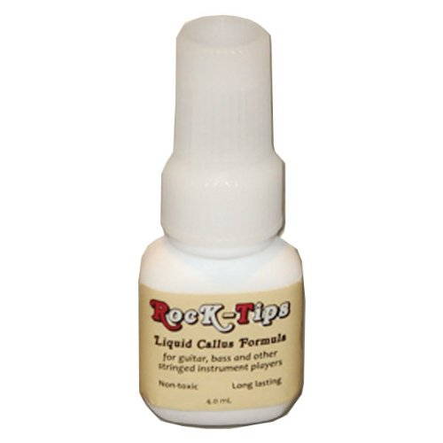 (Rock-Tips - Liquid Callus Formula - For Guitar, Bass, and Other Stringed Instruments - 4.0 mL)