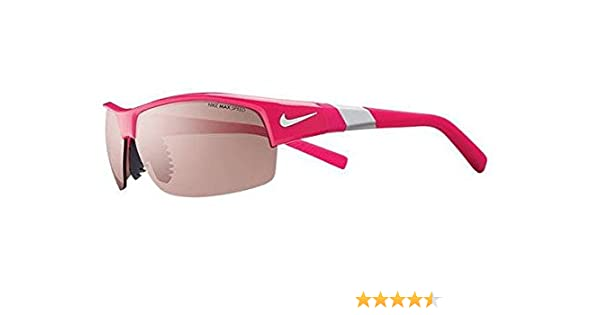 4ca361f72cd9 Amazon.com : Nike Show X2 E Sunglasses, Pink Force, Max Speed Tint/Grey Lens  : Sports & Outdoors