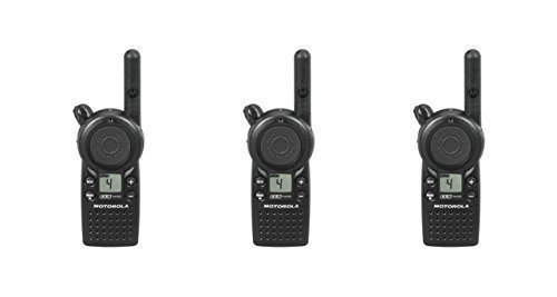3 Pack of Motorola CLS1410 1 Watt Business Two-Way Radio with 4 Channels 121 Interference Codes 5 mile range by Motorola