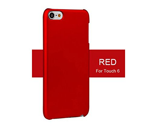 iPod touch 5 Case, iPod touch 6 Case, TopACE Superior Quality Extremely Light Super Slim Shell Cover for Apple iPod Touch 5th 6th Generation (Red) (Touch Ipod Red 5)