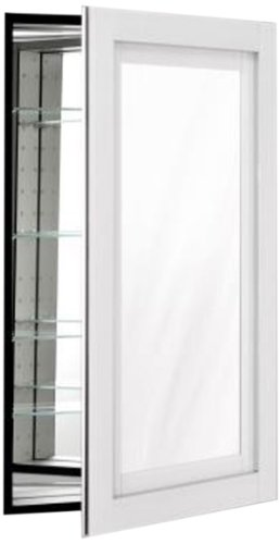 Robern CB-MP24D4CDWN Candre Medicine Cabinet, White