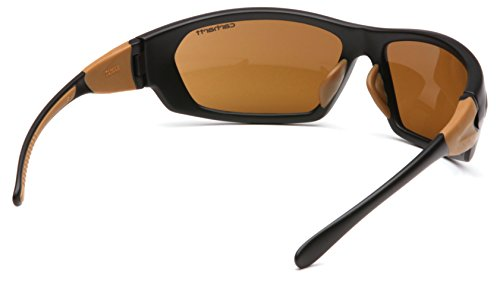 Carhartt Carbondale Safety Sunglasses with Sandstone Bronze Lens by Carhartt (Image #3)
