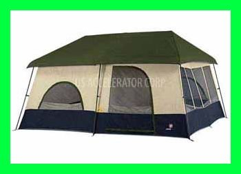 Swiss Gear 14u0026quot; X 12u0026quot; 9-Person Cottage Tent for C&ing ...  sc 1 st  Amazon.com & Amazon.com : Swiss Gear 14