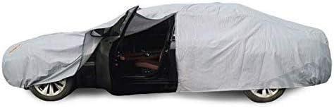 VOFJCY Car-Cover Kompatibel mit Mercedes Benz Spint Viano Vito Unimog verdickte Sonnenschutz wasserdichte Baumwolle Grau Schneeschutz Size : Spint