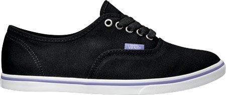 Vans Hommes Authentiques Lo Pro Chaussures De Skate Pop Noir / Aster Violet 4 B (m) Us