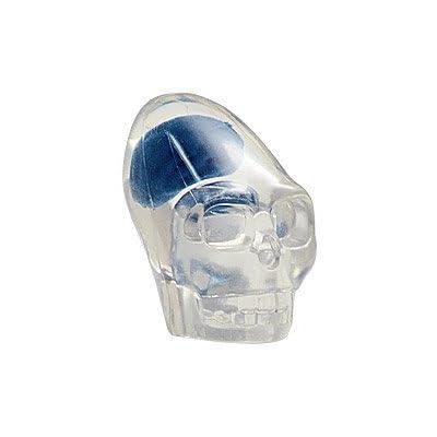 Lego Indiana Jones x1 Crystal Skull Blue Brain 7196 7627 7628 Clear Head Minifigure Minifig Akator NEW.: Toys & Games