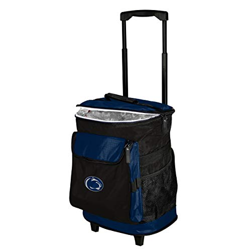 Logo Brands 196-57 NCAA  Penn State Nittany Lions Rolling Cooler
