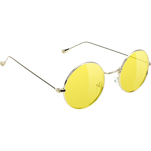 Glassy Sunhaters Mayfair Gold / Yellow - Mayfair Glasses