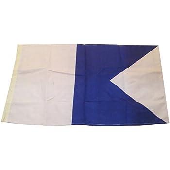 "Marine Code 16/"" X 28/"" P Nautical // Boat LARGE FLAG Naval Signal Flag"