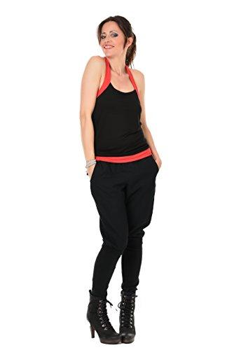 Black Belle 3elfen Top Red Woman Neckholder qFagWaP