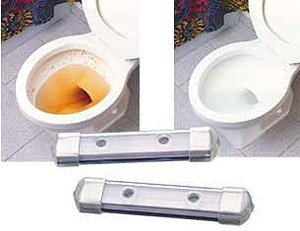 - CHEMICAL FREE MAGNETIC TOILET BOWL CLEANERS - SET OF 2