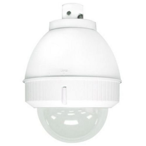 Outdoor 7 inch pendant mount housing (with heat and blower - tinted lower dome) (7 Tinted Dome Housing)