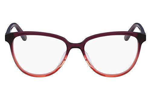 Óculos Ck Ck18514 512 Vinho Degradê Translúcido Lente Tam 52