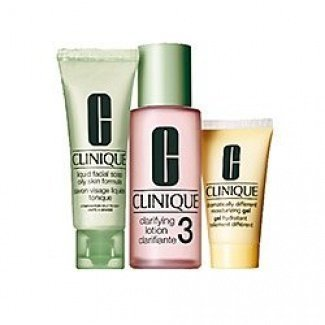 Clinique 3 step Travel Kit for Oily Skin