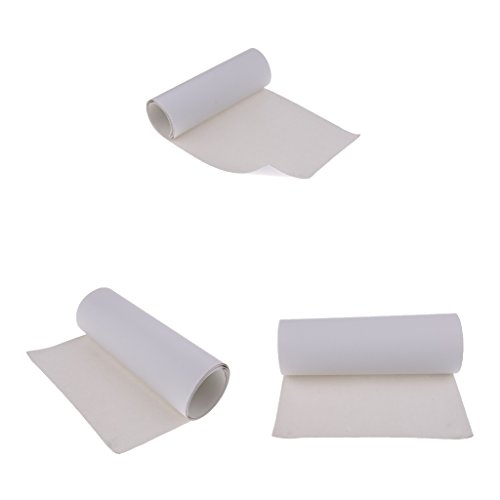 Fityle 3枚 耐久性 スケートボードグリップテープ アンチスリップ 研磨紙