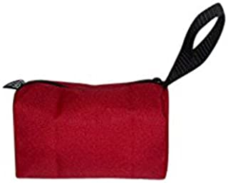 product image for Toiletry or shaving kit holds all your essentials,cosmetic bag Made in USA. (Red)