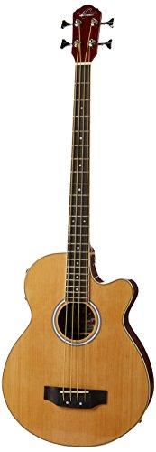 Oscar Schmidt OB100 Acoustic-Electric Bass with Gig Bag -...
