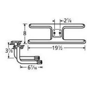Music City Metals 11002-75812 Stainless Steel Burner Repl...