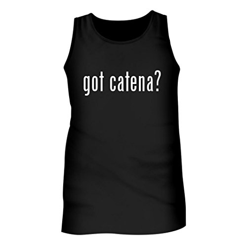 Tracy Gifts Got catena? - Men's Adult Tank Top, Black, Small