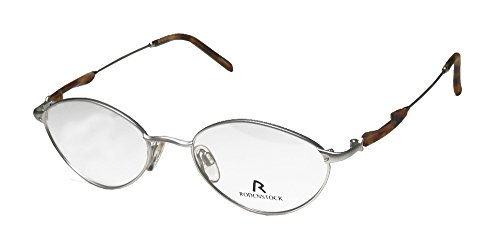 [Rodenstock R2560 Mens/Womens Prescription Ready Hot Style Designer Full-rim Eyeglasses/Eyewear (48-18-135, Silver /] (Bertha Red Costumes)