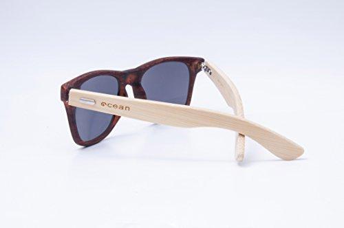Monture Soleil Bambou Verres en Sunglasses 3 52000 Lunettes Bambou Ocean lihue de Fumée Kw0dIyqC