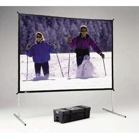 (Fast Fold Deluxe Portable Projection Screen Viewing Area: 133